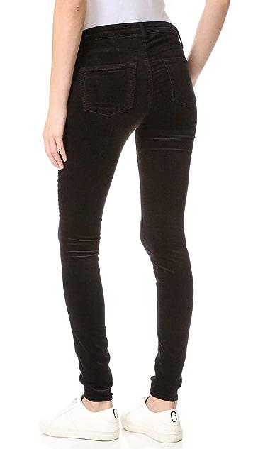 J Brand Velvet Maternity Jeans