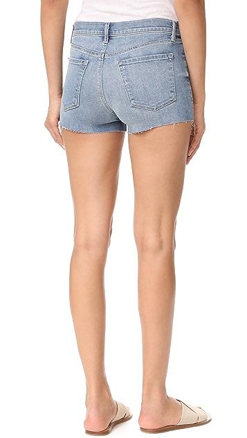 J Brand 1044 Mid Rise Shorts