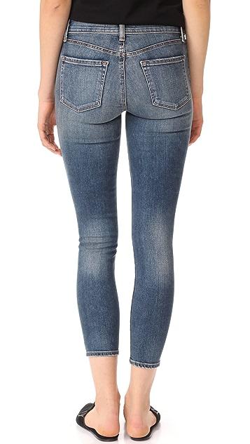 J Brand 835 Mid Rise Skinny Jeans