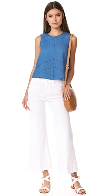 J Brand Daia Sleeveless Top