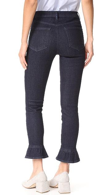 J Brand High Rise Crop Maude Jeans