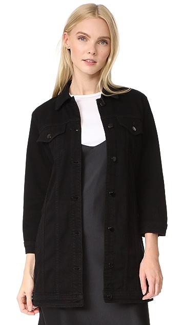 J Brand Maxi Jacket