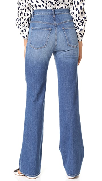 J Brand Joan High Rise Straight Jeans