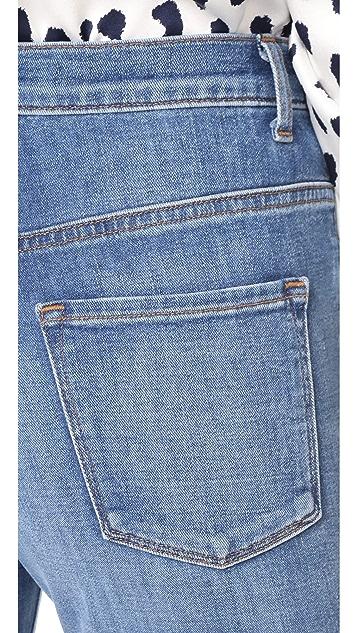 J Brand Joan High Rise Straight Jeans