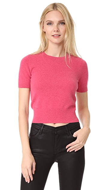 J Brand Briony Short Sleeve Sweater