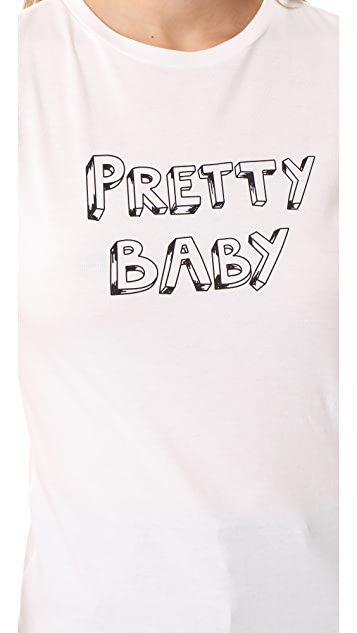 J Brand x Bella Freud Pretty Baby Tee