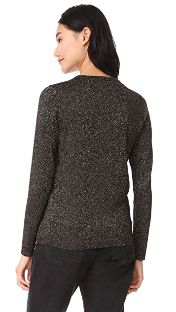 J Brand x Bella Freud Sparkle Pretty Baby Jumper