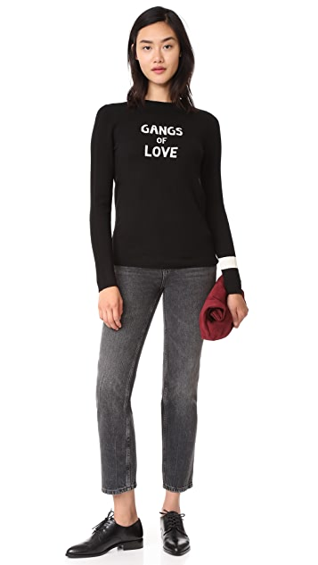 J Brand x Bella Freud Gangs Of Love Sweater