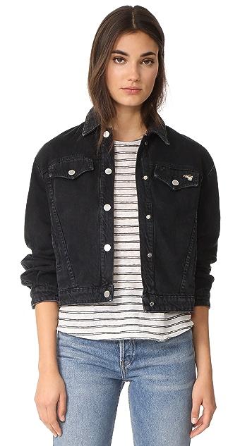 J Brand x Bella Freud Debbie Snap Front Jacket