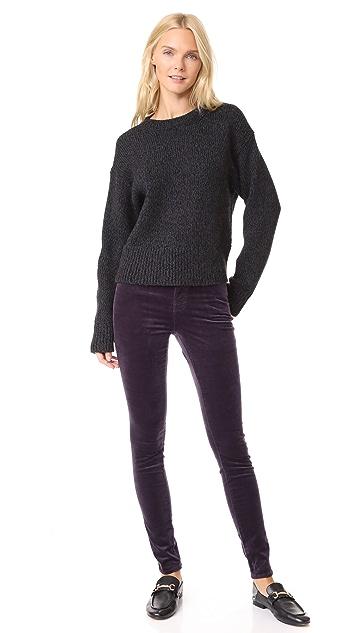 J Brand Maria High Rise Skinny Velveteen Jeans