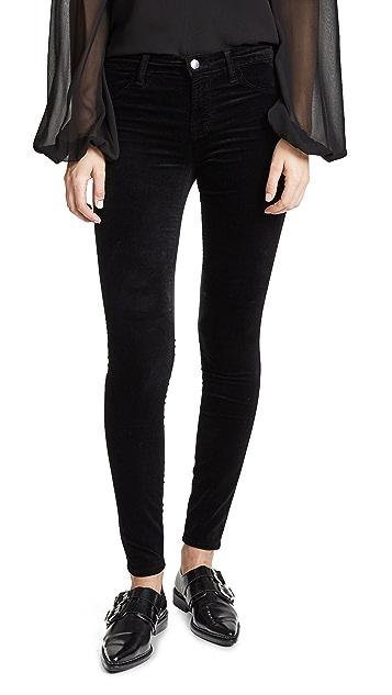 J Brand 815 Velveteen Jeans