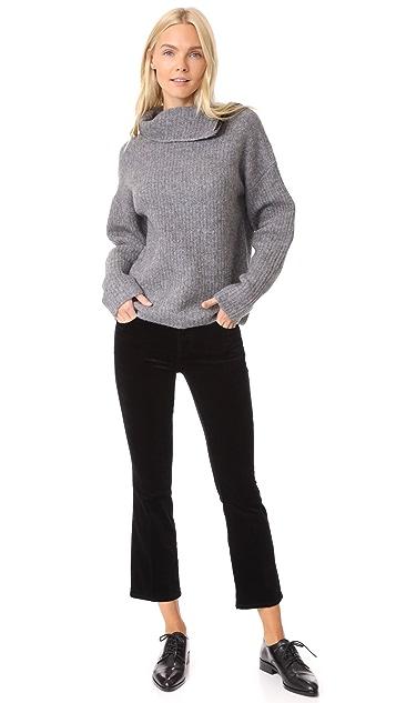 J Brand Selena Crop Boot Cut Velveteen Jeans