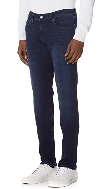 J Brand Kane Knit Straight Fit Jeans