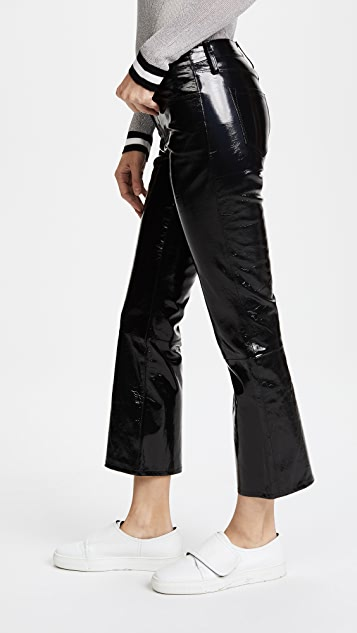 J Brand Selena Mid Rise Cropped Pants