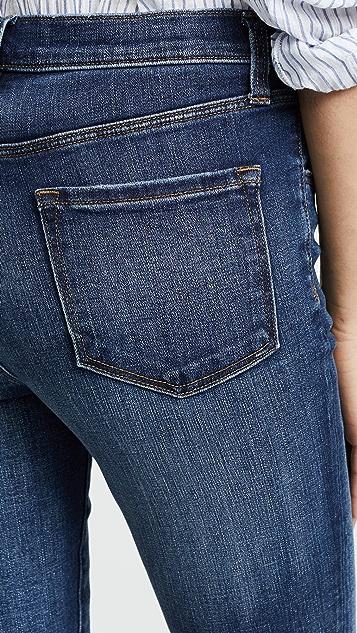 J Brand Ruby High Rise Crop Jeans