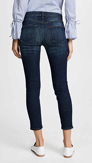 J Brand 835 Mid Rise Crop Jeans