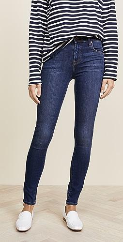 J Brand - Maria 高腰紧身牛仔裤