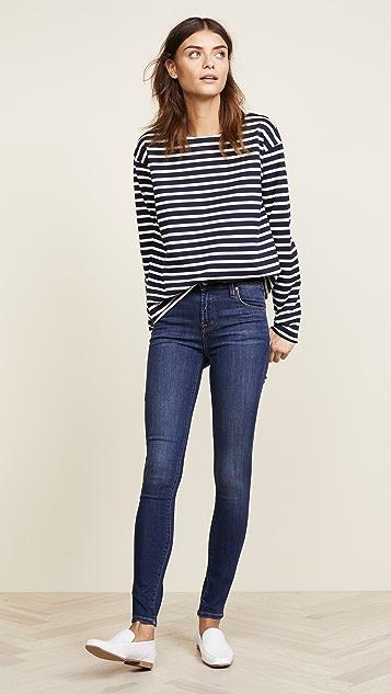 J Brand Maria High Rise Skinny Jeans