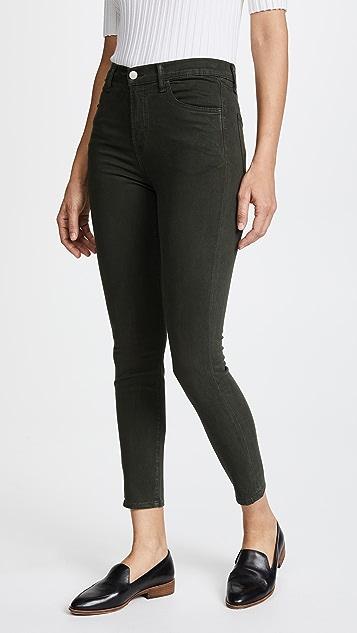 J Brand Alana High Rise Skinny Pants - Caledon