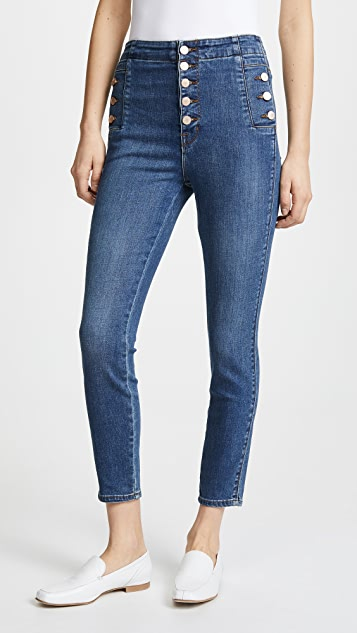 Natasha Sky High Skinny. - size 28 (also in 23,24,25,26,27,29,30) J Brand