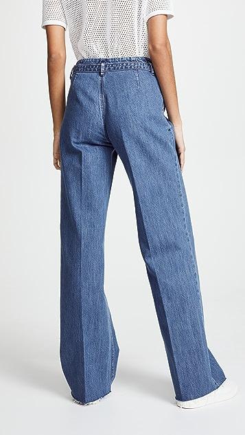 J Brand Tie Waist Pants