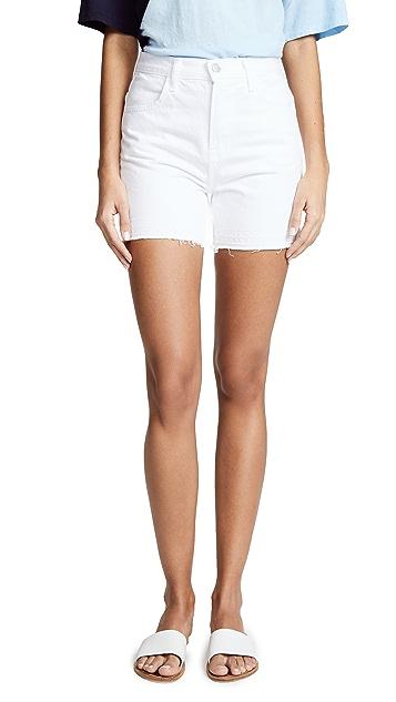 J Brand Joan High Rise Shorts