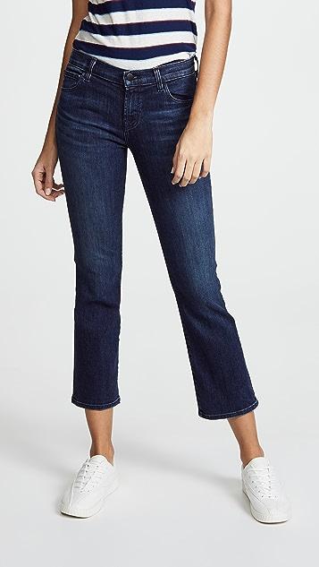 Selena mid-rise cropped jeans - Blue J Brand WvNwbxT