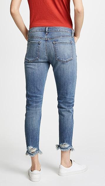 J Brand Sadey Slim Straight Jeans