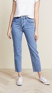 J Brand Wynne Crop Straight Jeans