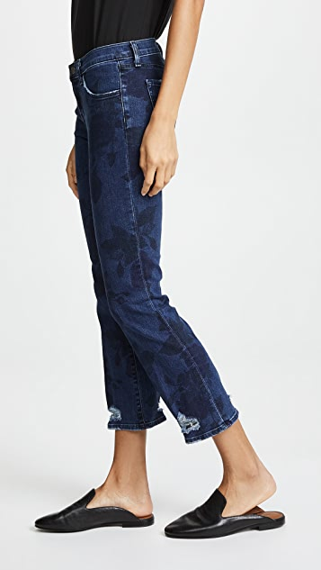 J Brand Selena Cropped Boot Jeans
