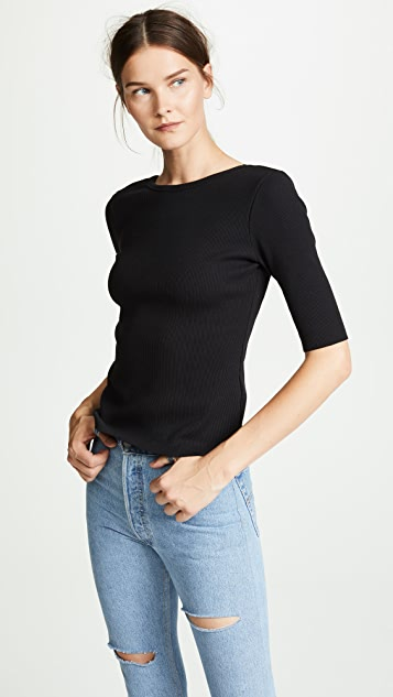 Soo Scoop Back Top by J Brand