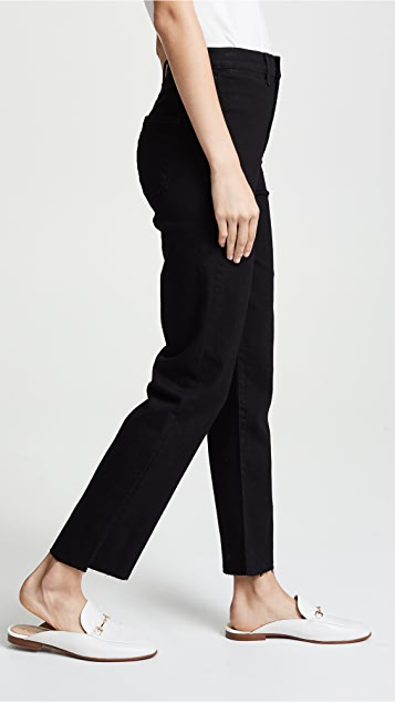 J Brand Stovepipe Straight Jeans