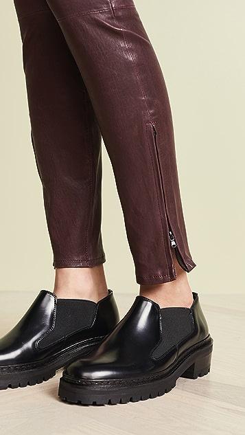 J Brand Mid Rise Skinny Pants