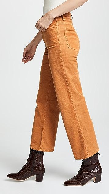 J Brand Joan High Rise Crop Corduroy Pants