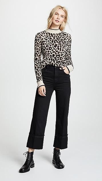 J Brand Укороченные джинсы Joan с высокой посадкой