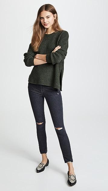 J Brand Alana High Rise Crop Skinny Jeans