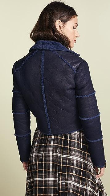 J Brand Aiah Shearling Jacket