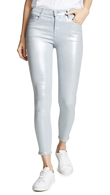 J Brand 835 Mid Rise Crop Skinny Jeans