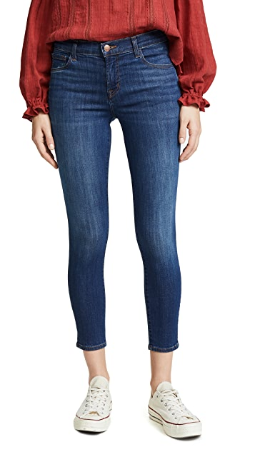J Brand 835 Cropped Jeans
