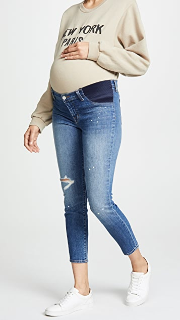 J Brand Mama J Capri Jeans