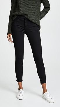835 Mid Rise Capri Jeans