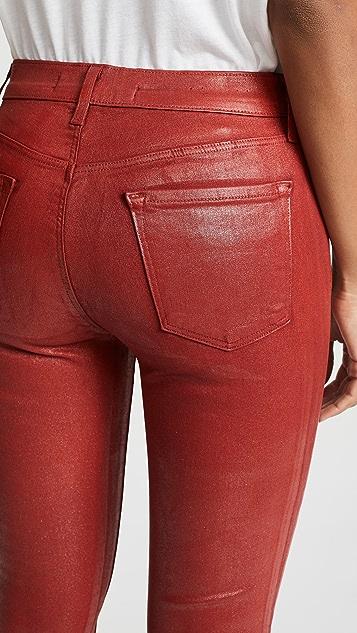 J Brand 835 Mid Rise Crop Skinny Jeans