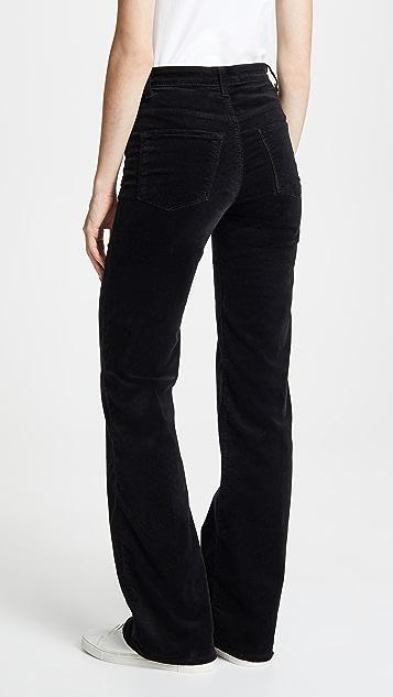 J Brand Velvet Joan High Rise Pants