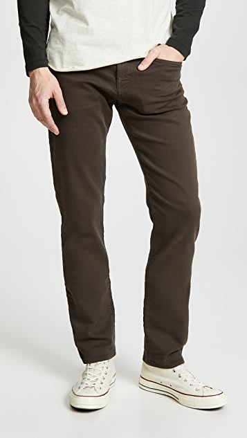 J Brand Kane Straight Fit Jeans