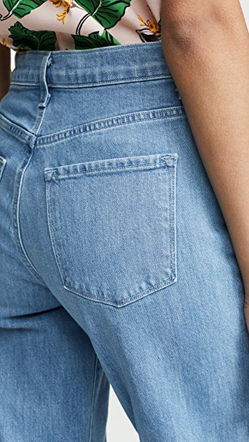 J Brand Joan 高腰九分牛仔裤