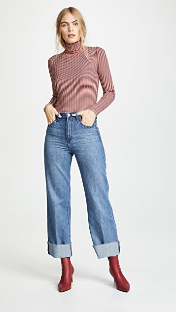 J Brand Joan High Rise Crop Jeans