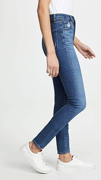 J Brand Carolina Super High Rise Skinny Jeans