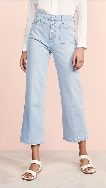 J Brand Joan High Rise Crop Jeans - Elara