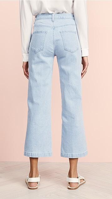 J Brand Joan High Rise Crop Jeans
