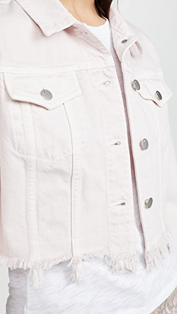 J Brand Cropped Cyra Jacket